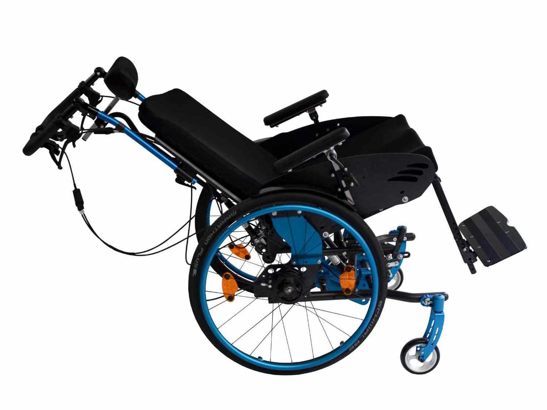 Rollstuhl SORG Loop RS gekantelt