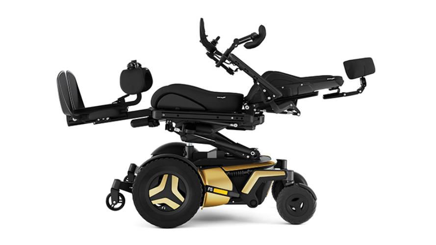 Rollstuhl Permobil F5 liegend